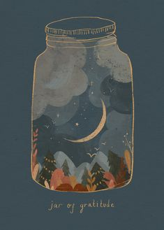 A little 'jar of gratitude' for all of you who are supporting independent artists, local makers, creators and small businesses. You are so very appreciated for connecting with our passions, our crafts and creations! Illustration by Raahat Kaduji - @raahatventures - www.raahatkaduji.com