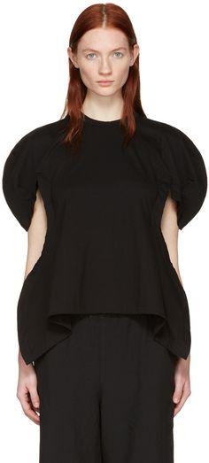 Comme des Garçons - Black Volume Sleeve T-Shirt