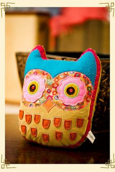 "natural life ""let it be"" owl pillow   Thank You Heather for giving this pillow to Grant's Place. xoxo  http://grantsplacemn.wordpress.com/"