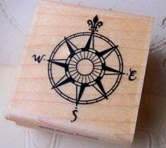 stamp compass rose - Google Search