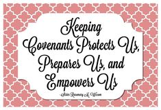 Come Follow Me - Why are covenants important in my life 2