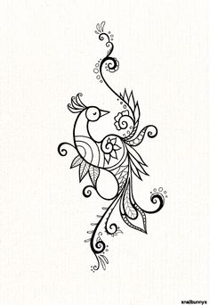 peacock tattoo-love