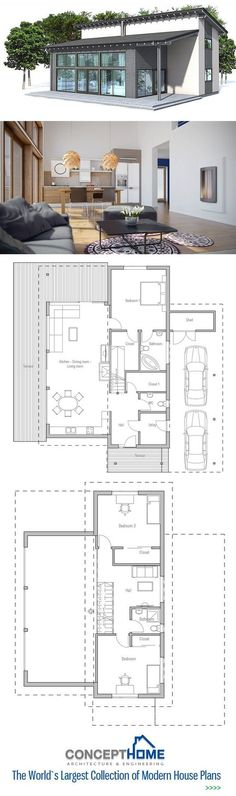 Small House Plan. Floor Plan from #home design #interior design #living room design #home interior| http://home-design-collections.lemoncoin.org