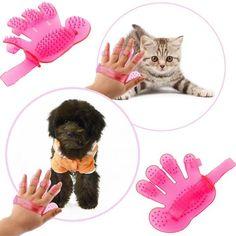 Comb Massage/Bath Glove for Cats