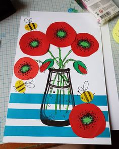 Drawing Flowers For Kids Children