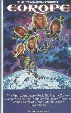 The Final Countdown by Europe (Cassette, 1986) VG