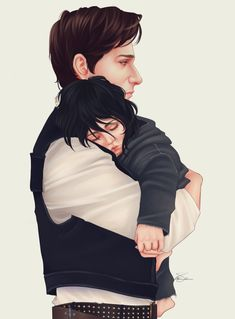 Han and Ben Solo by orisoni. This hurts so much.