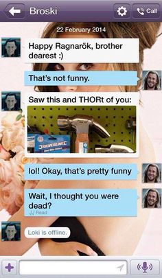 Thor and Loki texts