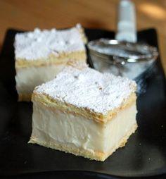 Vanilla Custard Slice | Baking Bites #madewithvanilla #custard #vanilla