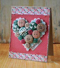 Card by Kimberly Crawford  (011612)  [buttons]