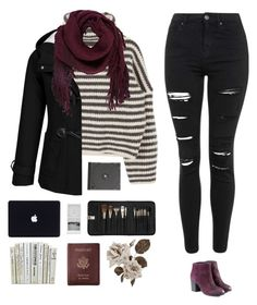 """Winter wear"" by genesis129 ❤ liked on Polyvore featuring Topshop, Ulla Johnson, Sephora Collection, Royce Leather, women's clothing, women, female, woman, misses and juniors"