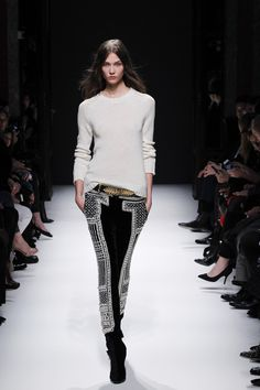 want these balmain trousers aw12