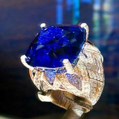 Piaget sapphire ring