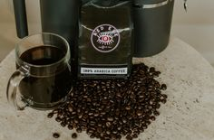 ☕ Arabica Coffee is produced from the less acidic, more bitter, and more highly caffeinated robusta bean that will definitely help you keep up with your morning! Red Eye Coffee, Thing 1, Dark Roast, Red Eyes, Bitter, Gourmet Recipes, How To Dry Basil, Beans, Food