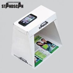 StandScan - Portable iphone scanner, Lightweight Scanning Box for your smartphone to photo scan professional quality Documents, Pictures and 3D objects. by StandScan. Only $19.95. Get it at www.standscan.com