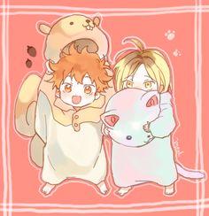 Hinata and Kageyama // Haikyuu!