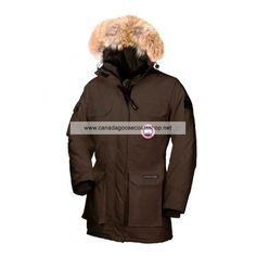 Womens Canada Goose Expedition Parka Brown
