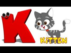 Learn all about the letter K with our Phonics letter K song! Lyrics of the song: Here comes the letter K! Letter Song, Alphabet Songs, Letter K, Alphabet Letters, Baby Songs, Kids Songs, Abc Kids Tv, Rhymes For Kids, Kids Fun