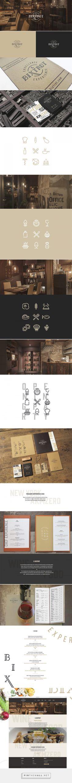 IL BIXTROT restaurante Branding y Diseño de menú mediante el Proyecto Lander   Agencia de Branding Fivestar - Diseño y la Agencia de Branding & Inspiration Gallery Curada