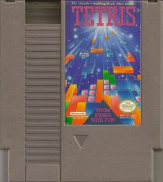 Tetris ...arguably the most addictive game of all time