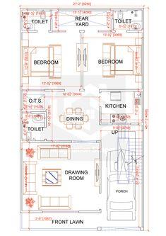 2bhk House Plan, House Plans Mansion, Model House Plan, Simple House Plans, House Layout Plans, Duplex House Plans, Family House Plans, House Floor Plans, Home Design Floor Plans