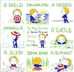 Cute Captain America!