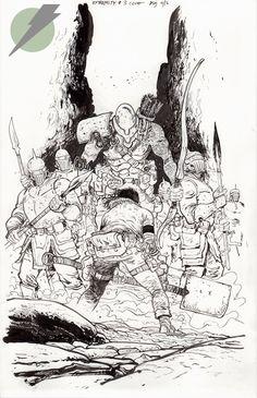 Felix Comic Art :: For Sale Artwork :: EXTREMITY by artist Daniel Warren Johnson