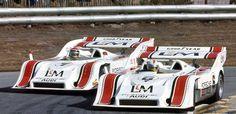 (6) Mark Donohue - Porsche 917/10 TC - Roger Penske Enterprises, Inc. - (7) George Follmer - Porsche 917/10 TC - Roger Penske Enterprises, Inc. - Monterey Castrol GTX Grand Prix Laguna Seca - 1972 Canadian-American Challenge Cup, round 8