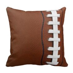 SEAHAWKS MAN CAVE football pillow