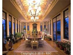 diningroom ceiling!!!