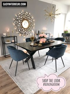 Cool Small Modern Dining Room Design Ideas For Your Inspiration Interior Design Living Room, Living Room Decor, Kitchen Interior, Minimalist Dining Room, Minimalist Kitchen, Modern Minimalist, Dining Room Inspiration, Design Inspiration, Design Ideas