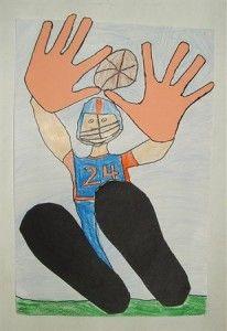 Hands & feet artwork - perspective