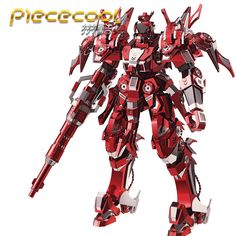 Piececool 3D Metal Puzzle Red Thunder Edition Model Kits P085-RSK DIY 3D  Laser Cut fd1380c9dff2