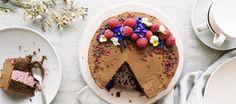 Vadelma-suklaakakku, gluteeniton     Reseptit – K-Ruoka