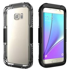 Samsung Galaxy S8/S8 Plus Waterproof Acrylic Clear Phone Case - 4 Colors