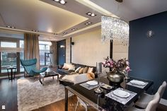 Salon styl Glamour - zdjęcie od Arte Dizain - Salon - Styl Glamour - Arte Dizain Conference Room, Lounge, Inspiration, Furniture, Home Decor, Kitchens, Living Room, Airport Lounge, Drawing Room