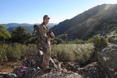 Una mañana en la sierra, respirando aire puro.