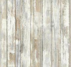 Give walls an instant transformation with this revolutionary distressed wood peel and stick wall decor by RoomMates! inspired by the look and feel of rustic wood plank texture, peel and stick wall … Look Wallpaper, Wallpaper Decor, Peel And Stick Wallpaper, Adhesive Wallpaper, Adhesive Vinyl, Peelable Wallpaper, Barnwood Wallpaper, Sticky Wallpaper, Wallpaper Stencil
