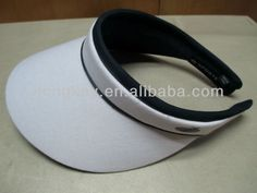cotton twill clip sun visor hat $0.85~$12.5