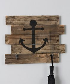 Look what I found on #zulily! Anchor Coat Rack #zulilyfinds
