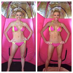 """Feeling pale or washed out? Spray tans put that """"spunk"""" back in your skin!"""