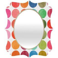 Garima Dhawan Colorplay 5 Quatrefoil Mirror   DENY Designs Home Accessories