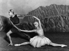 """Coco Chanel for the Ballets Russes' """"Appolon musagète"""", 1928. #dancefashion Public domain image."""