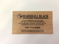 Custom Carpentry Business Cards   Carpentry, Business cards and ...