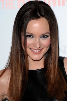 Leighton Meester's top 10 hair and makeup looks: The Roommate premiere, 2011 http://beautyeditor.ca/2013/10/16/leighton-meester-hair-and-makeup/