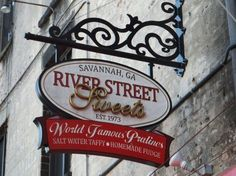 River Street Sweets is located in Savannah, Georgia, right on the famed River Street Walk.