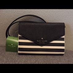 Kate Spade Crossbody Kate Spade Fairmount Square Crossbody. Small size. Brand new with original tag still attached. 3 credit card slots inside. kate spade Bags Crossbody Bags