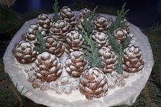 Christmas confection in the shape of cones! You will be surprised by everyone! Diy Christmas Gifts For Friends, Christmas Sweets, Holiday Desserts, Christmas Baking, Galletas Cookies, Christmas Cookies, Hungarian Desserts, Twisted Recipes, Yule Log