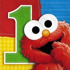 elmo b-day party Lego Themed Party, Elmo Party, 1st Birthday Party Supplies, Boy Birthday Parties, Elmo Birthday Cake, Elmo Bebe, Sesame Street Party Supplies, Elmo Invitations, Baby Elmo