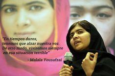 Las mejores frases de nuestro Premio Nobel de la Paz favorito, Malala Yousafzai   Verne EL PAÍS http://verne.elpais.com/verne/2014/10/10/articulo/1412941386_000152.html